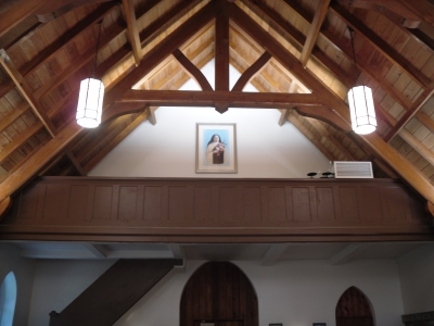 Chapel Interior -- Gable