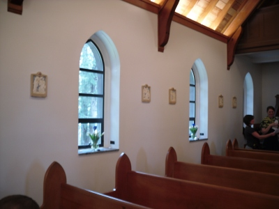 Chapel Interior -- Side Wall