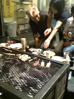 Okinawans at the Robata